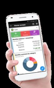 Aplicativo de controle financeiro Gastos Diários 3