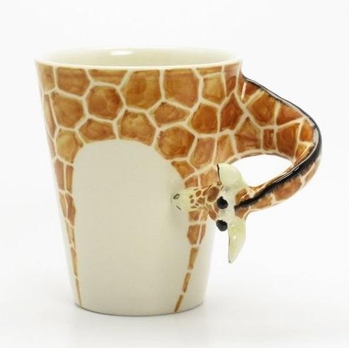 Caneca de girafa